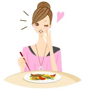 食事補助で忙しくても美容の管理もできます!