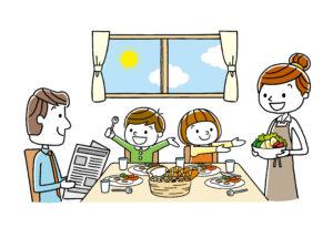 食事補助の活用で看護師さんも家族も健康に!