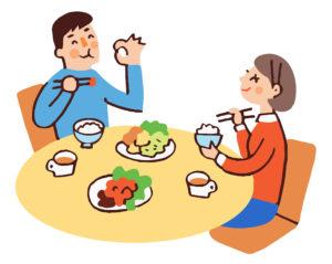 オフィス社食サービスは家族の健康や夫婦仲までも向上?!