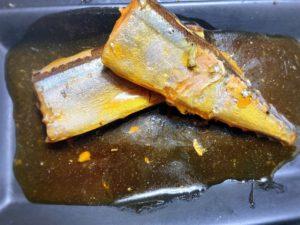昼食補助:三陸産さんま生姜煮