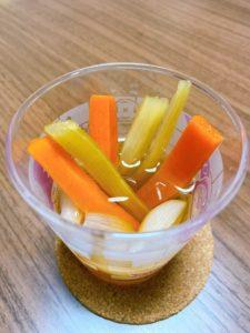 プチ社食:季節野菜3種のピクルス