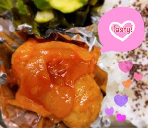 昼食の惣菜:イタリアン鶏団子