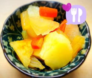 福利厚生:季節野菜3種のピクルス