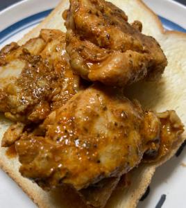 社食:パンにも合うタンドリーチキン