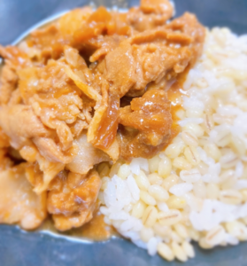 健康経営:豚の味噌生姜焼き